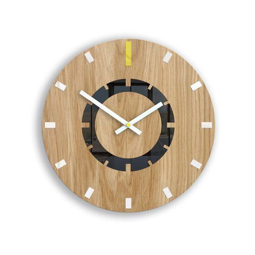 Symple Stuff 33cm Silent Wall Clock In 2019 Products Wood Clocks