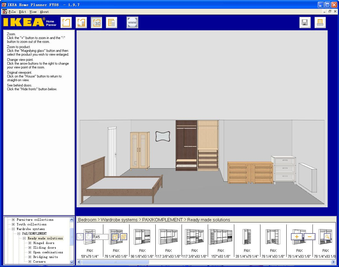 Ikea Bedroom Design Tool Fascinating Top 15 Virtual Room Software Tools And Programs  Room Planner Inspiration