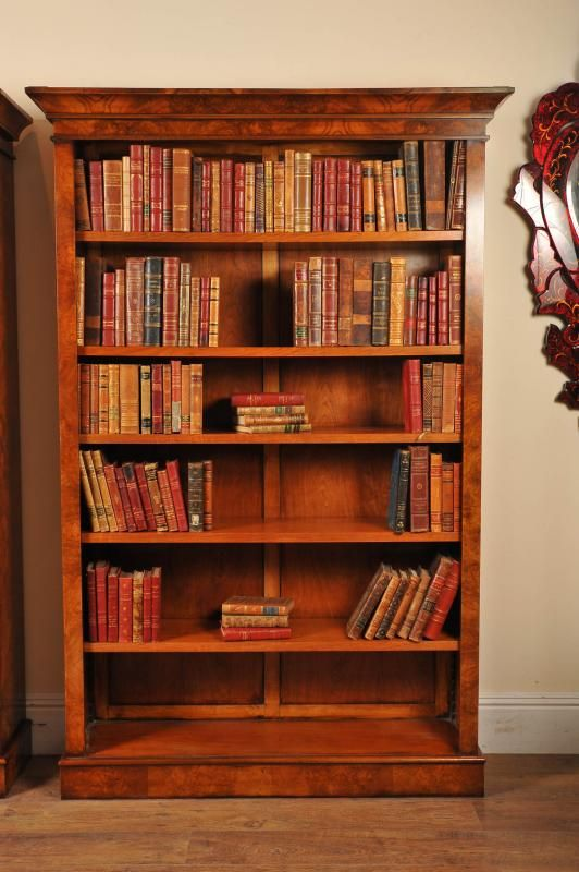 pair of walnut bookcases bookcases in 2019 victorian bookcases rh pinterest com