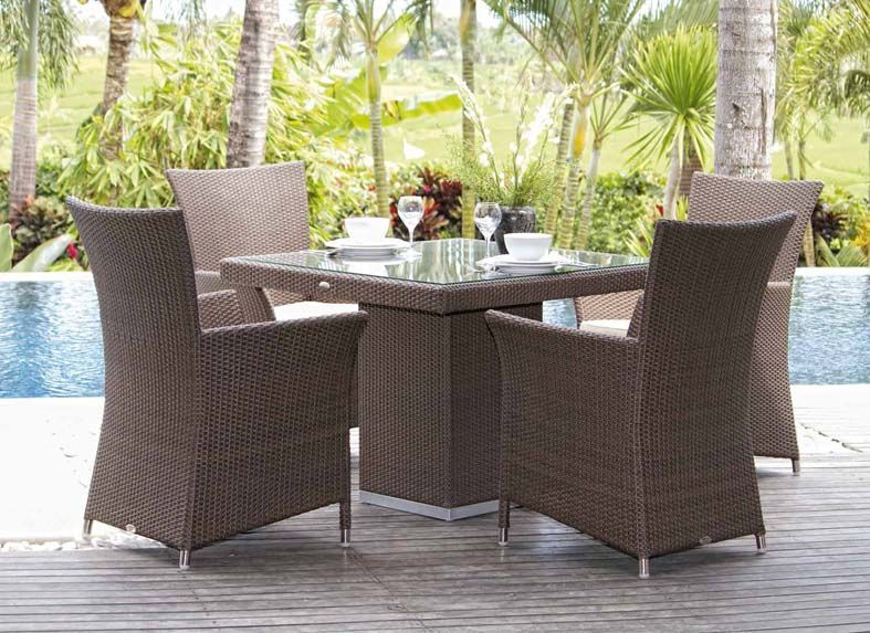 Sillon de rattan sintetico seabreeze decoracion beltran for Articulos decoracion jardin