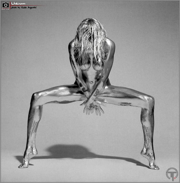 Exotic Body Painting Gallery | ... of Silver Body Painting | Body Paint
