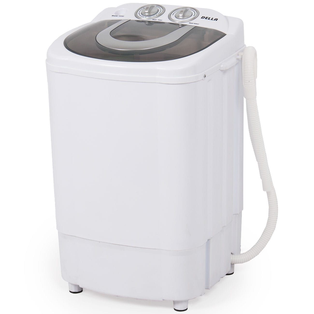Della Mini Portable Washing Machine Spin Wash 8 8 Lbs Capacity