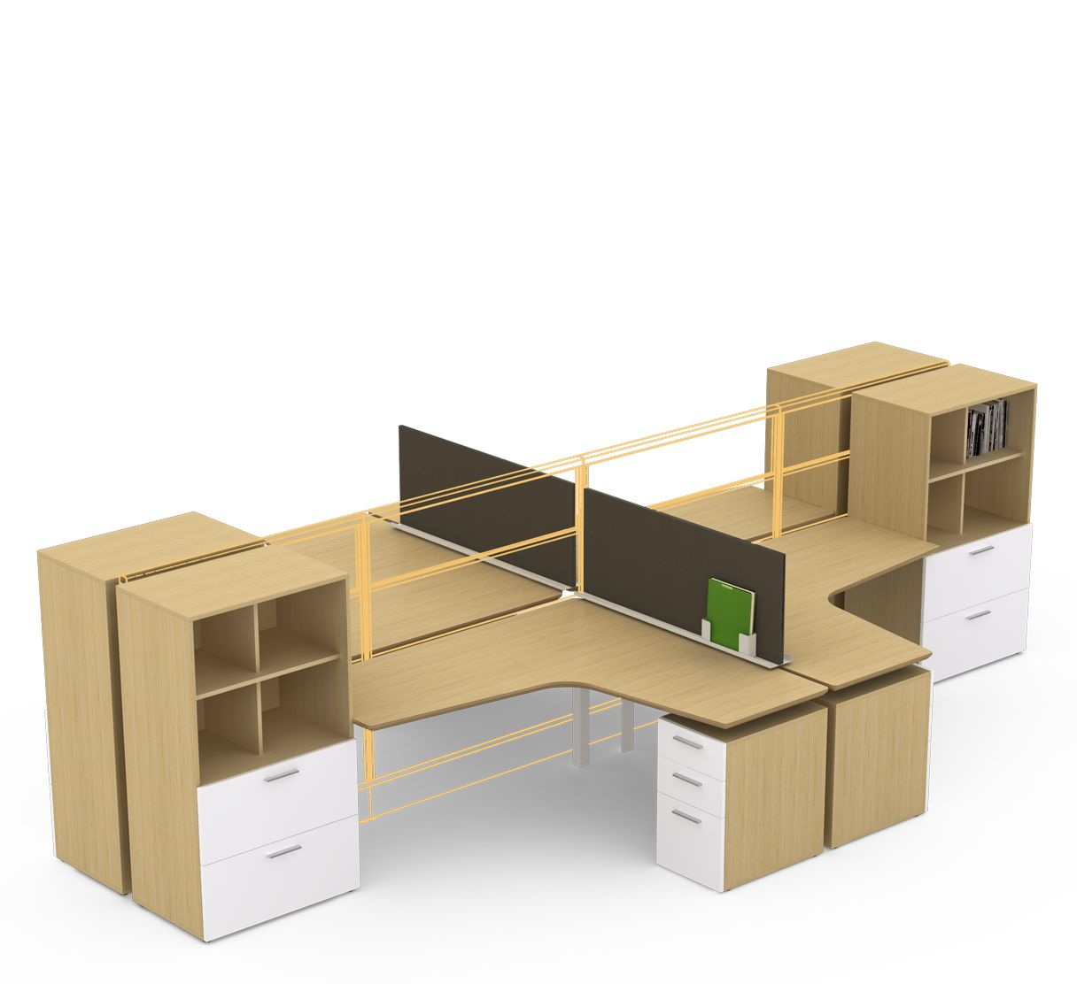 m2 with zo storage can create a built in feel with freestanding rh pinterest ca