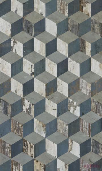 Madame Patina - Cube - Fußboden original lackiert - Komm ich mal für schöne Texturen drauf zurück!