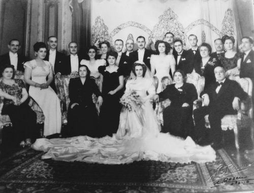 Casamento de D. Zilda filha mais nova do Sr. Camasmie