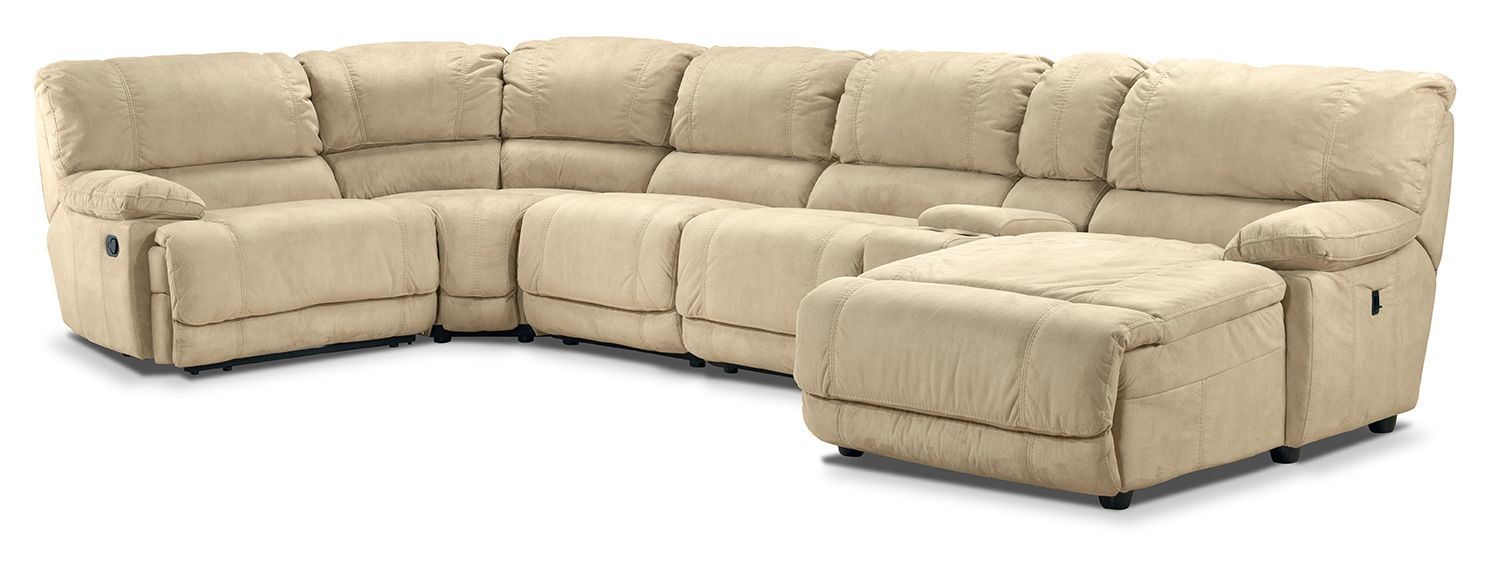 Silvie Upholstery 6 Pc Sectional
