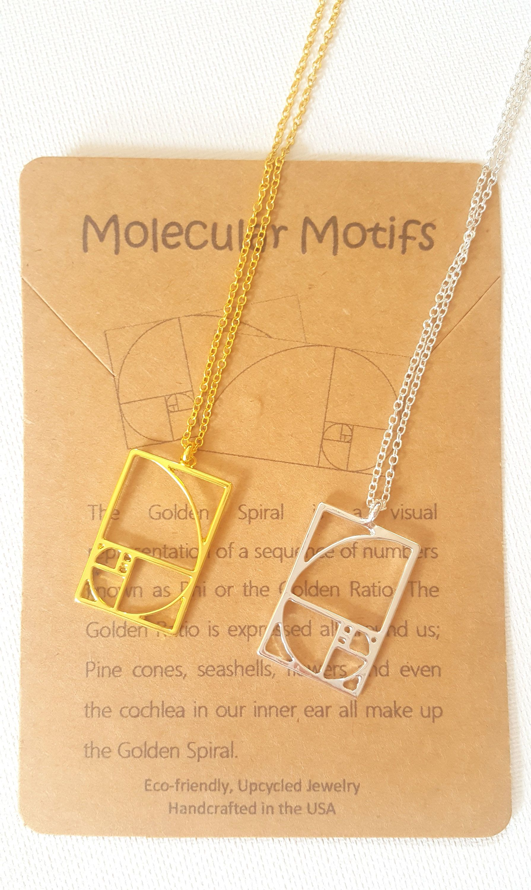 golden ratio pendant geometry img moon necklace triple shop naked