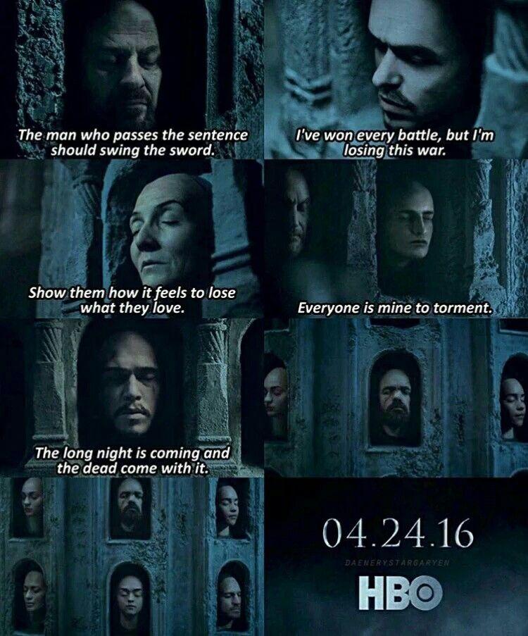 Season 6 : Hall Of Faces Tease