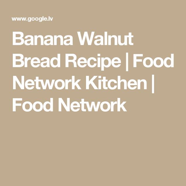 Banana walnut bread recipe food network kitchen food network banana walnut bread recipe food network kitchen food network forumfinder Choice Image