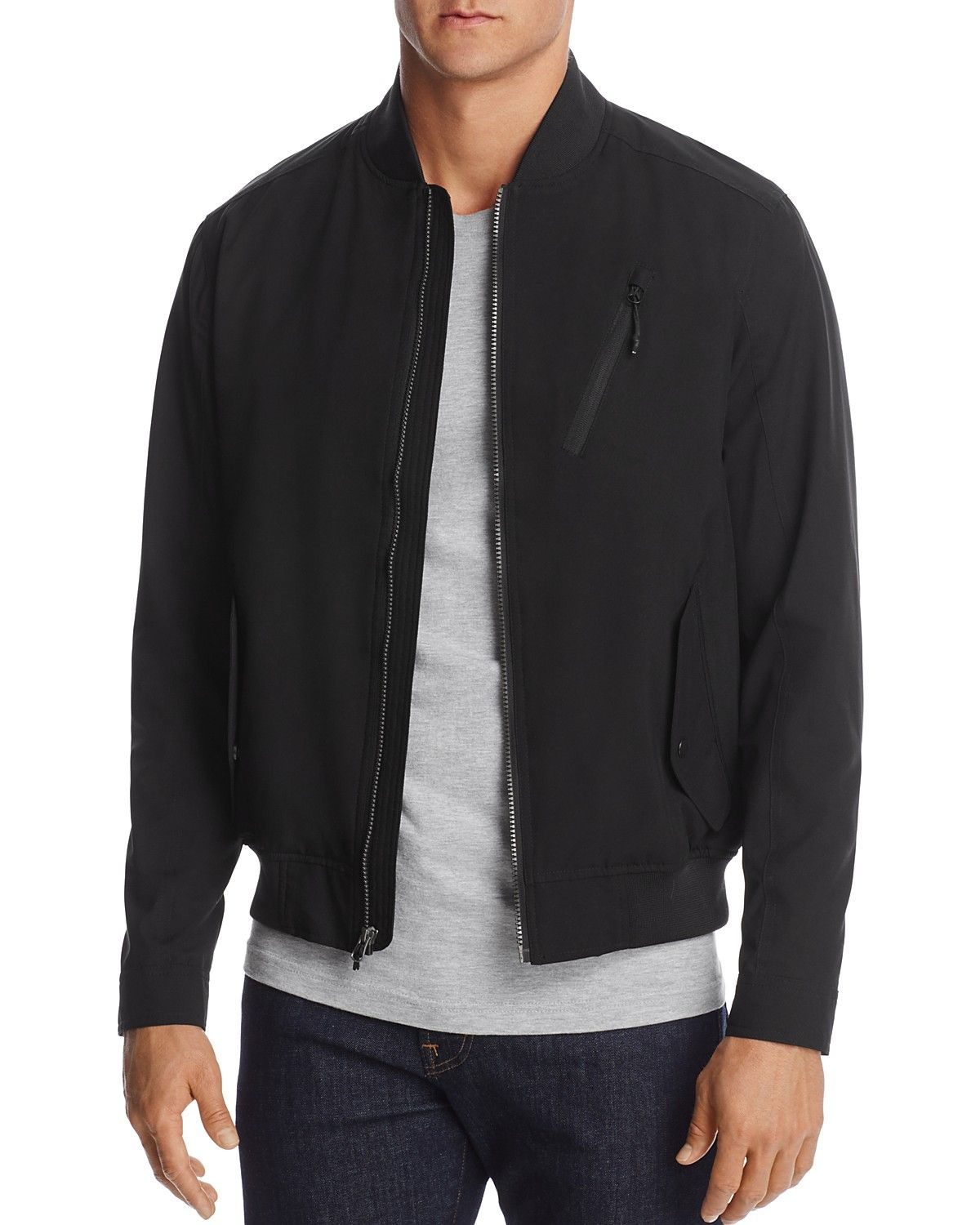 Hawke Co With Burkman Bros Bomber Jacket 100 Exclusive Price 195 00 Color Black Black Green [ 1500 x 1200 Pixel ]