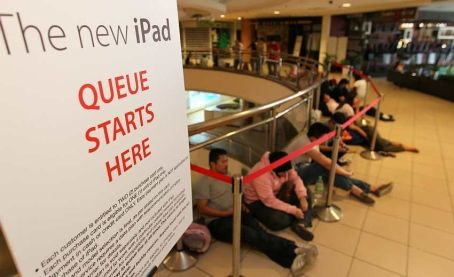 The Apple craze is truthfully a global phenomenon! @ Megamall - Kuala Lumpur, Malaysia