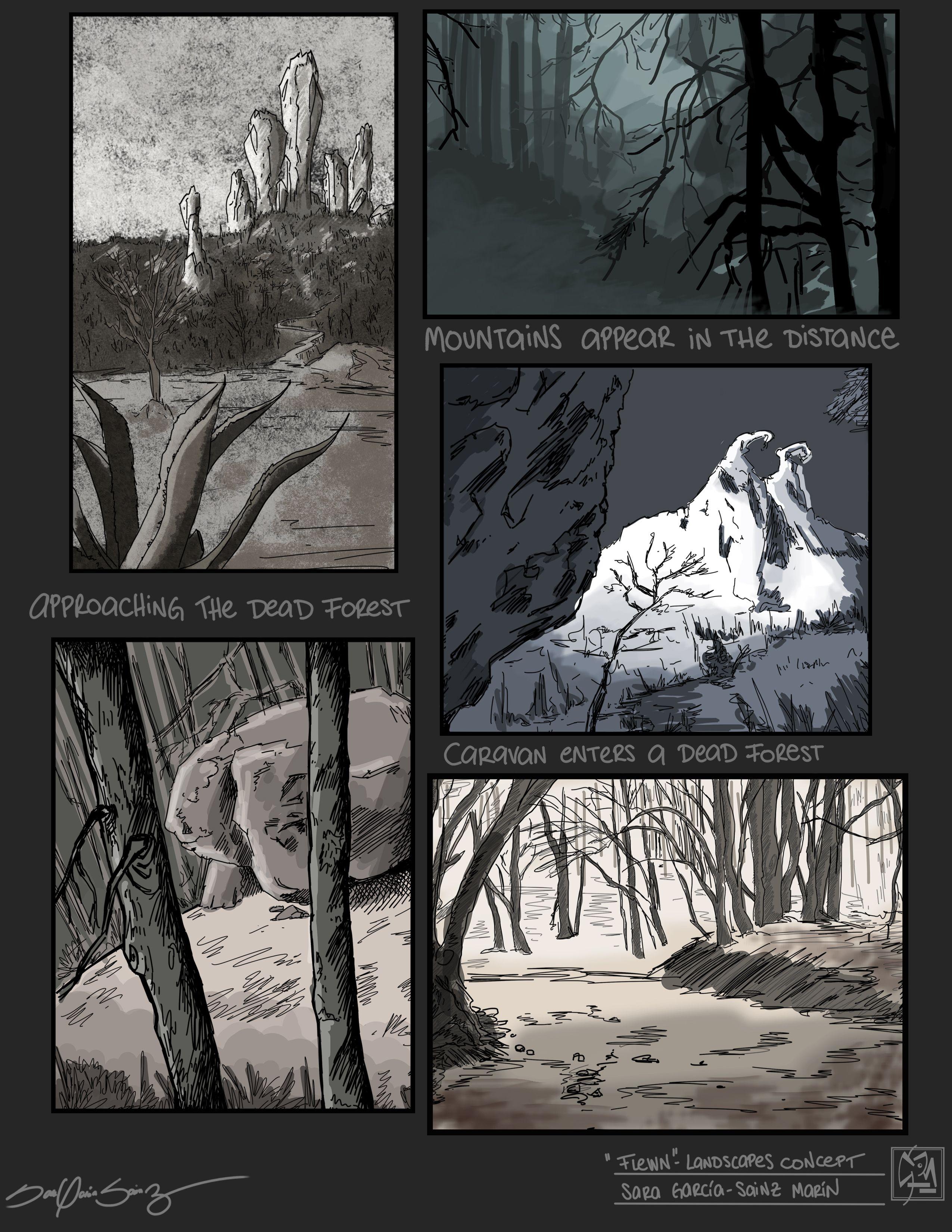Concept Art Landscapes