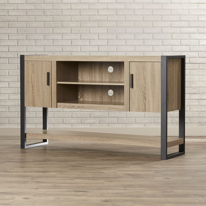 theodulus tv stand for tvs up to 65 living room console table rh pinterest com