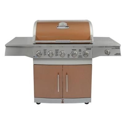 Brinkmann Medallion 5 Burner Gas Grill 810 6550 SB   The Home