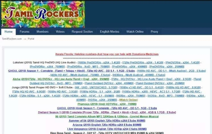 Tamilrockers Com Website Download And Watch Latest Tamil Telugu Malayalam Hindi Movies At High Quality Social Networks Networking Website
