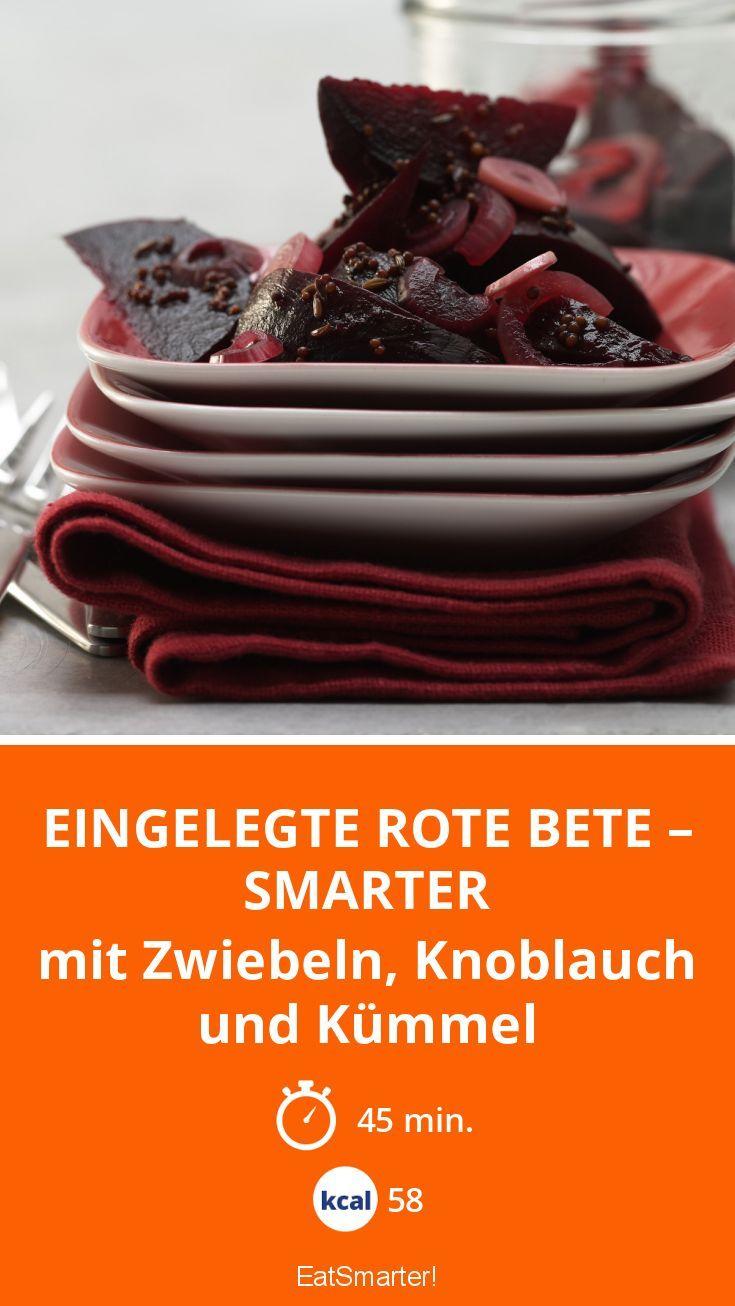 eingelegte rote bete smarter rezept vegane snacks pinterest rote bete einlegen und. Black Bedroom Furniture Sets. Home Design Ideas