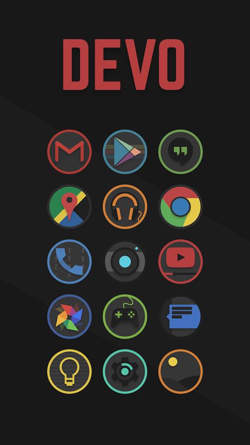 Download Devo Icon Pack v4.1.9 Full Apk Icon pack