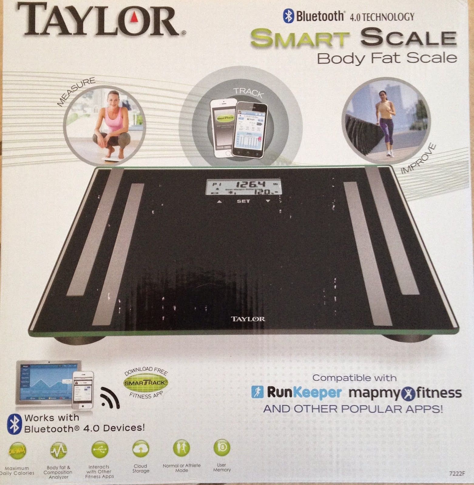 Pin On Taylor Bluetooth Body Fat Smart Scale