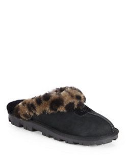 Saks.com | Slippers, Sheepskin slippers