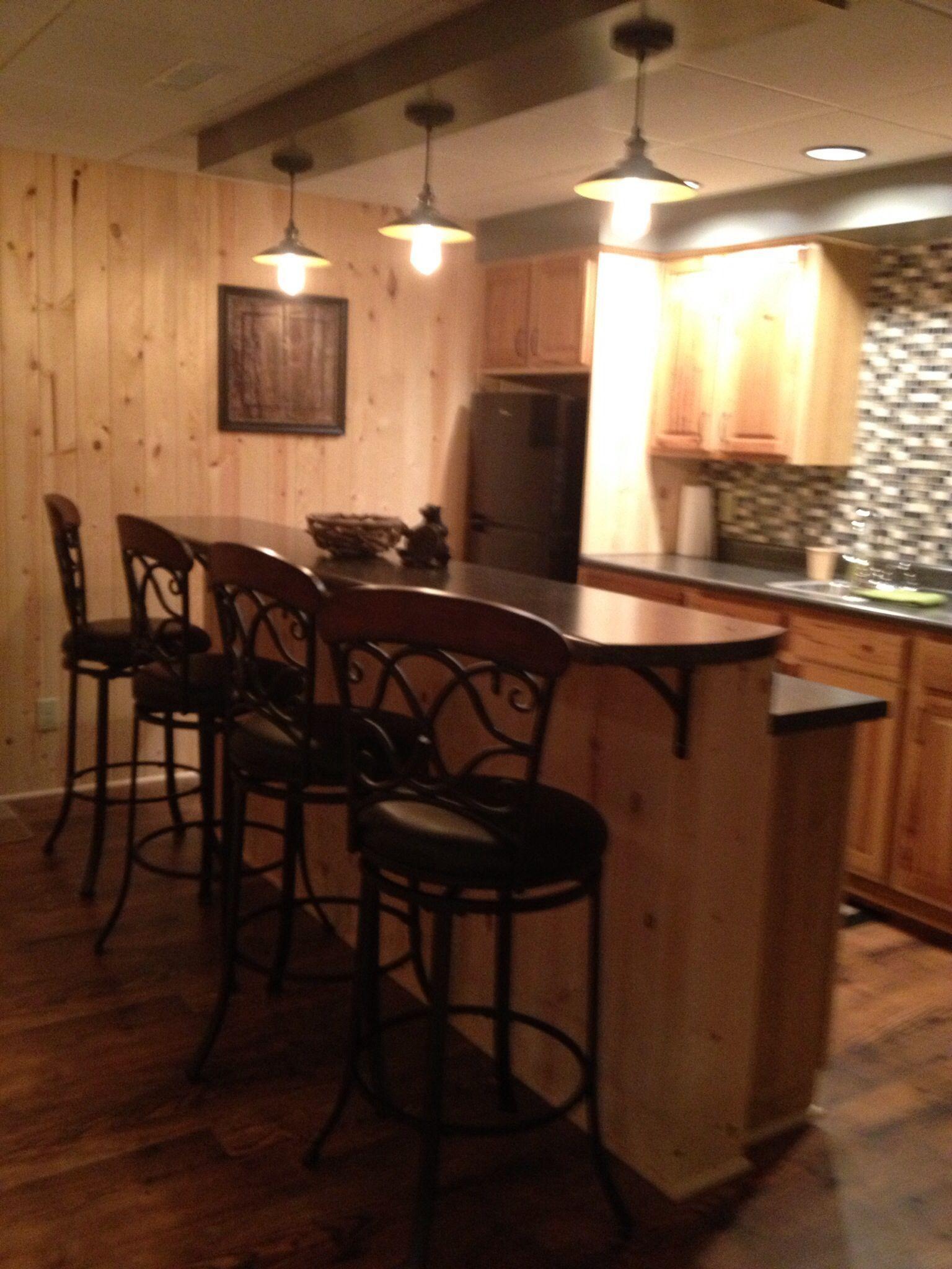 bar in basement remodel basementremodelingideascheap basement rh pinterest com