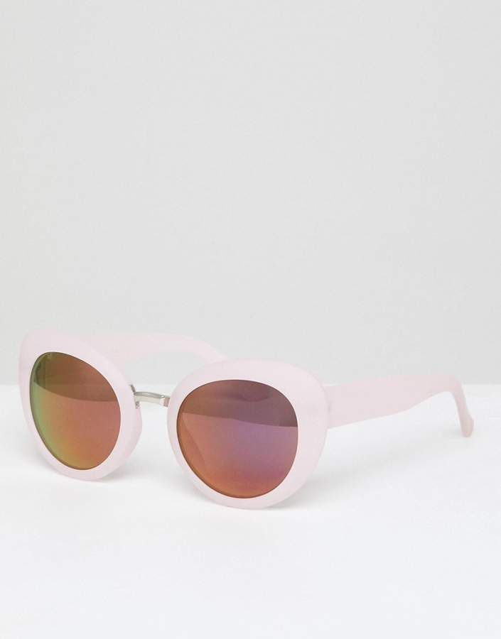 499972c5ce A. J. Morgan AJ Morgan pink chunky frame cat eye sunglasses