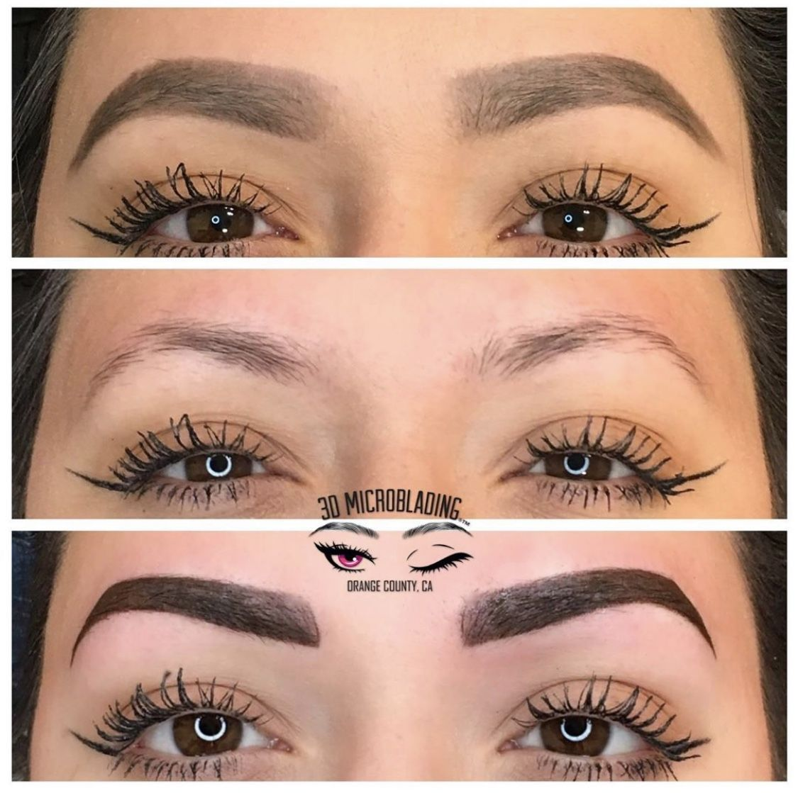 Powder brows by Franchesca DC in 2020 Microblading
