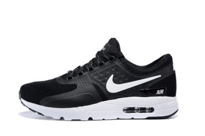 size 40 dac41 694d7 Nike Air Max Zero QS NikeID Black White Men Women Running Shoes 789695-009