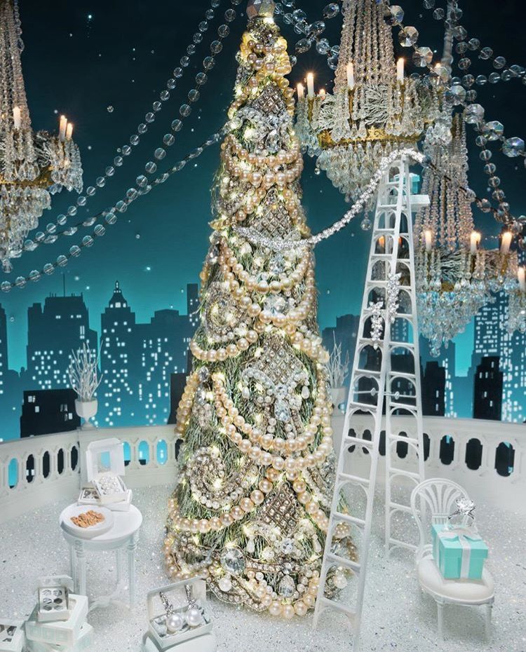 Tiffany Christmas Window