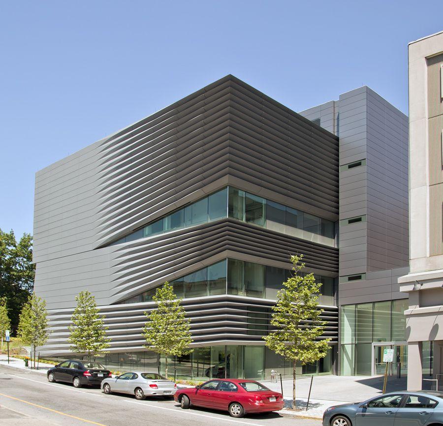 Metal Work Photos Industrial Architectural Residential: VMZ Composite Material In QUARTZ-ZINC Panels. #VMZINC