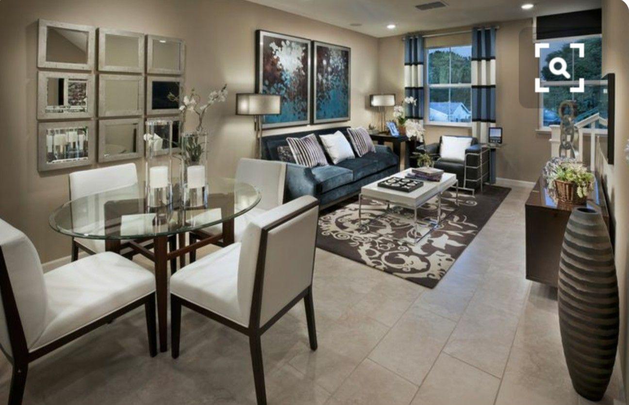 Pin By Jennifer Esquivel On Home Decor Living Room Dining Room Combo Apartment Living Room Dining Room Combo