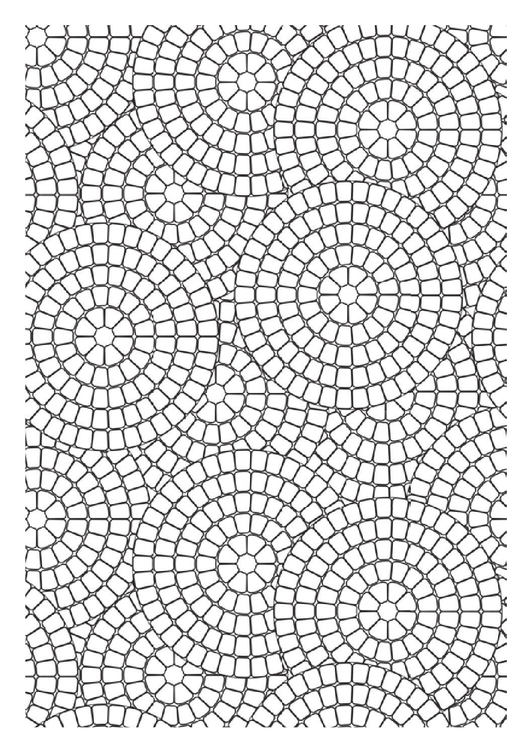 Velicanstvena Bojanka Za Odrasle Klikaj Geometric Coloring Pages Pattern Coloring Pages Coloring Pages