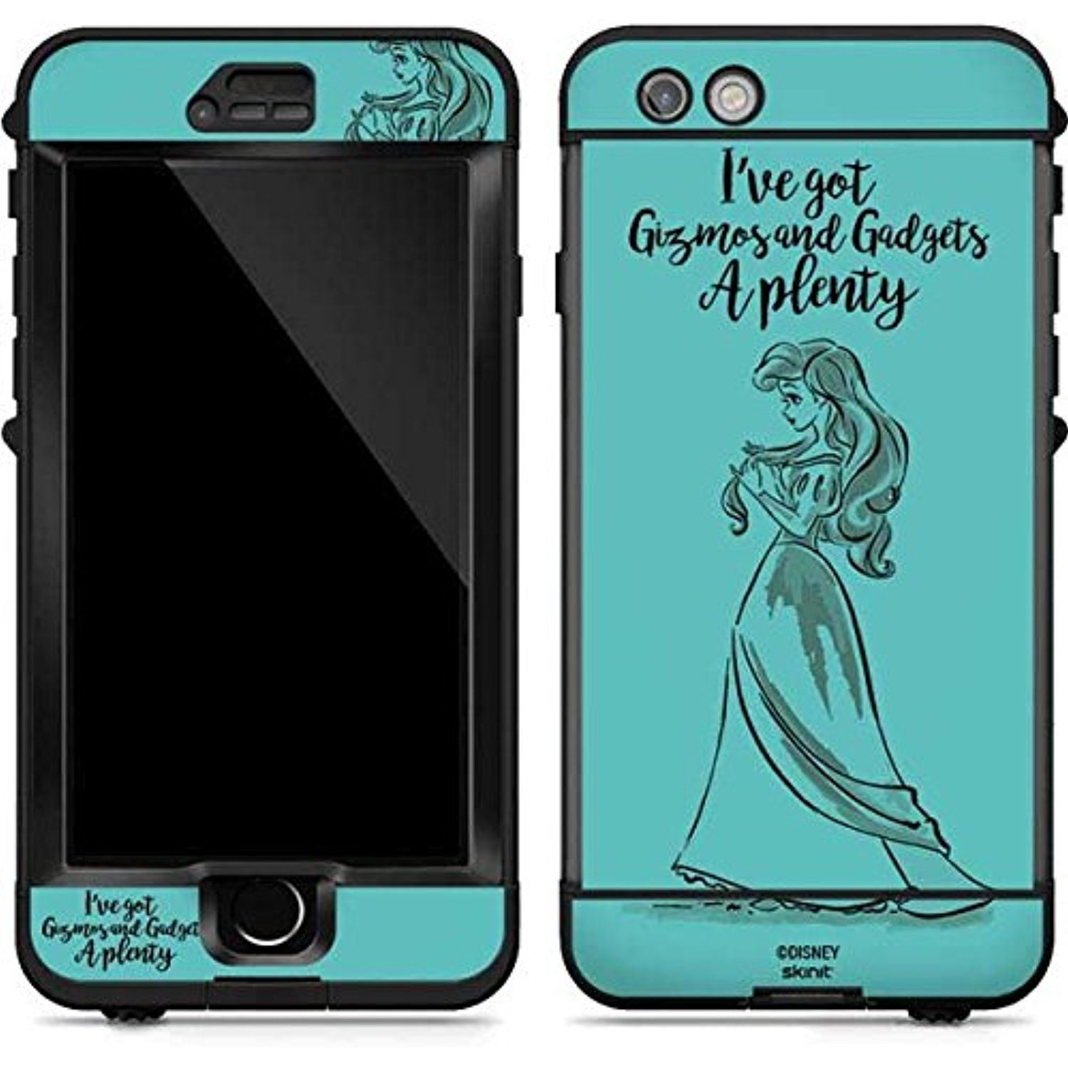 Disney Princess LifeProof Nuud iPhone 6s Plus Skin Ariel Gizmos and Gad s Visit the image link more details This is an affiliate link