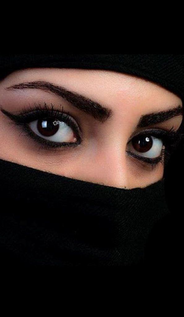 Beautiful Niqab Pictures islamic   Beautiful portrait ...  Arabian Women Eyes