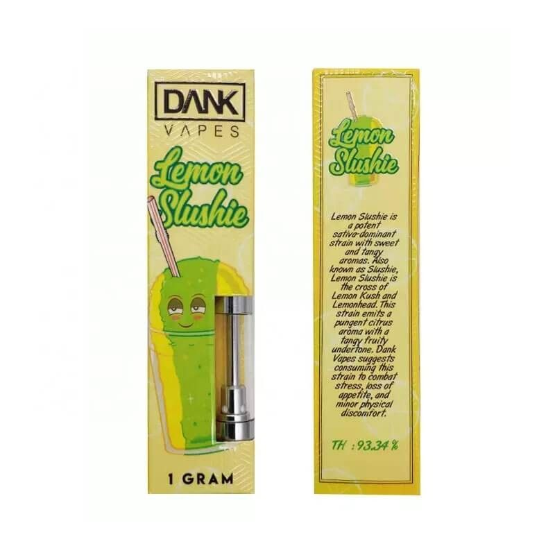Empty Dank Vapes CBD Cartridge with 19 Flavors Full Gram