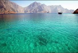 Would you like to swim here? Then you need to travel to Oman