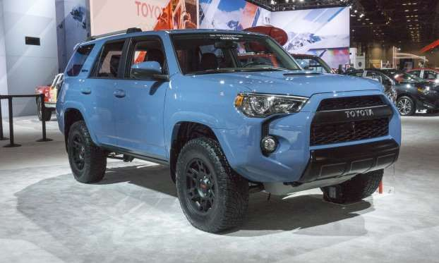 toyota debuted three new 2019 trd pro 4 4 models in chicago rh pinterest com