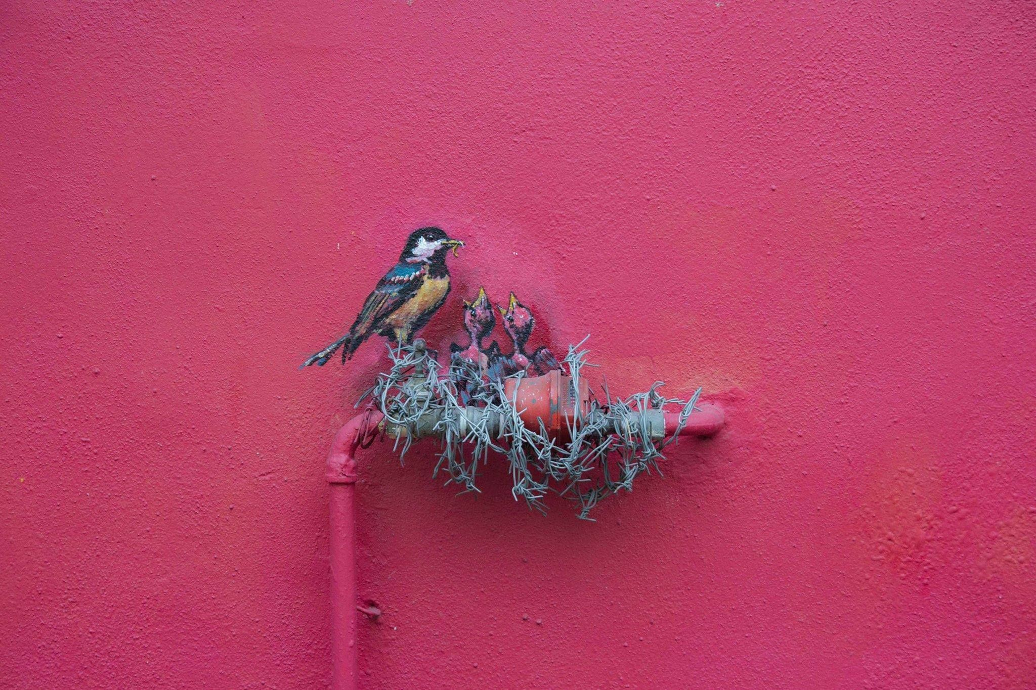 Street Art by Ernest Zacharevic | 106 of the most beloved Street Art Photos - Year 2012
