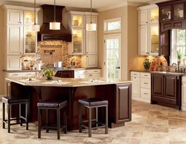 Kitchen Cabinets Java Color java cabinets like the granite | dream home | pinterest | kitchens