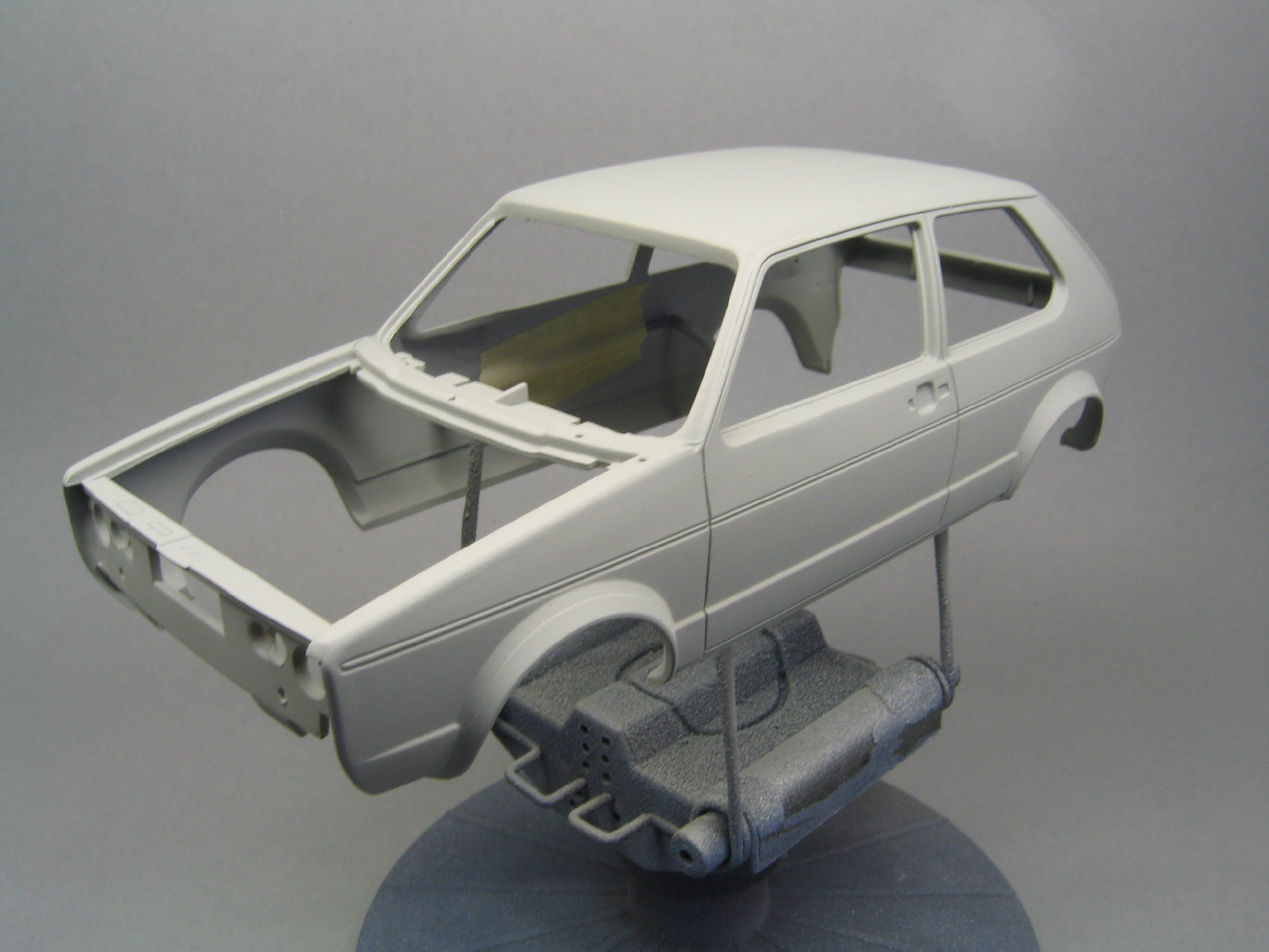 How To Prepare The Body Of Your Scale Model Before Paint Car Model Model Cars Building Scale Models