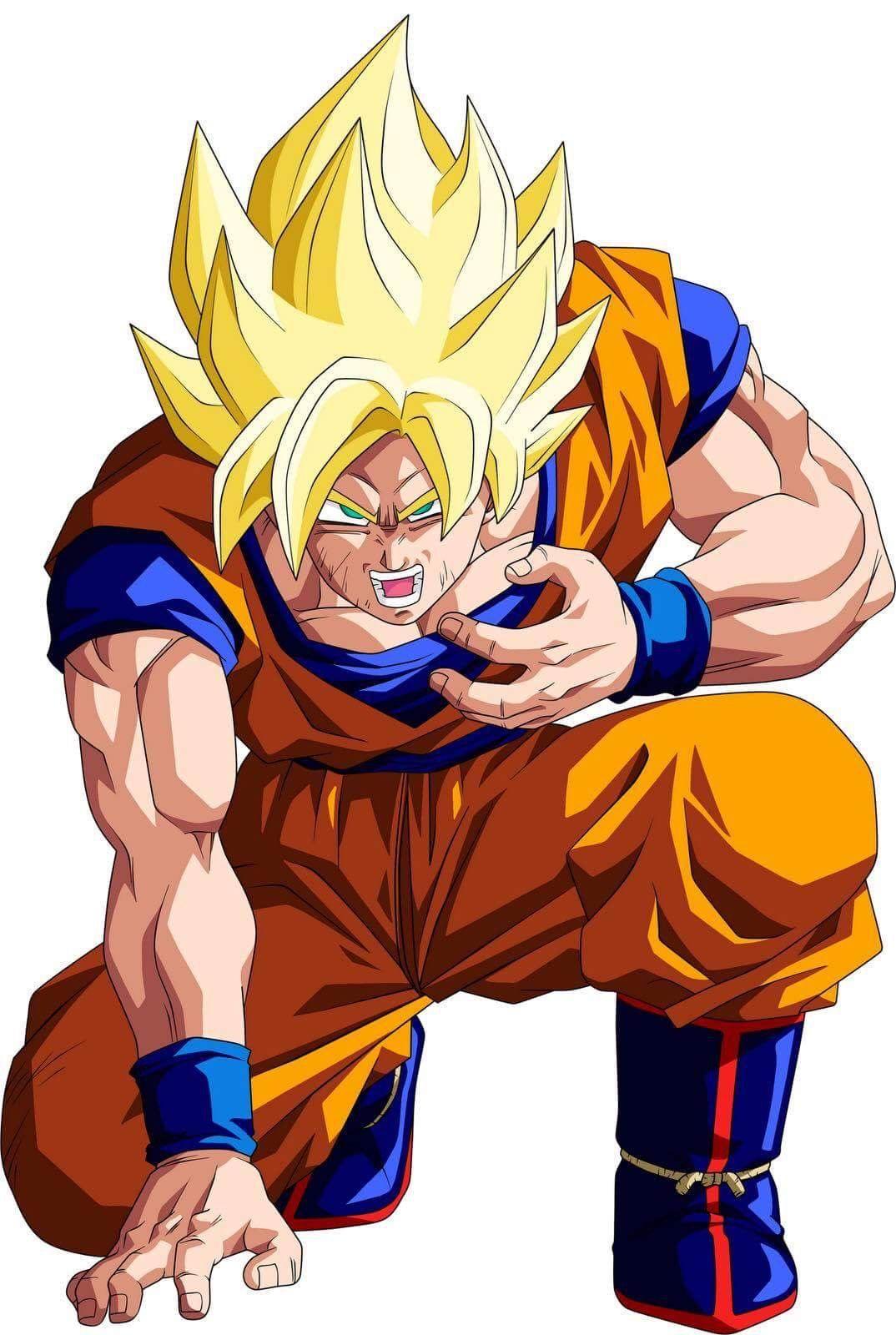 Goku Ssaiyanjin Anime Dragon Ball Super Dragon Ball Artwork Dragon Ball Z