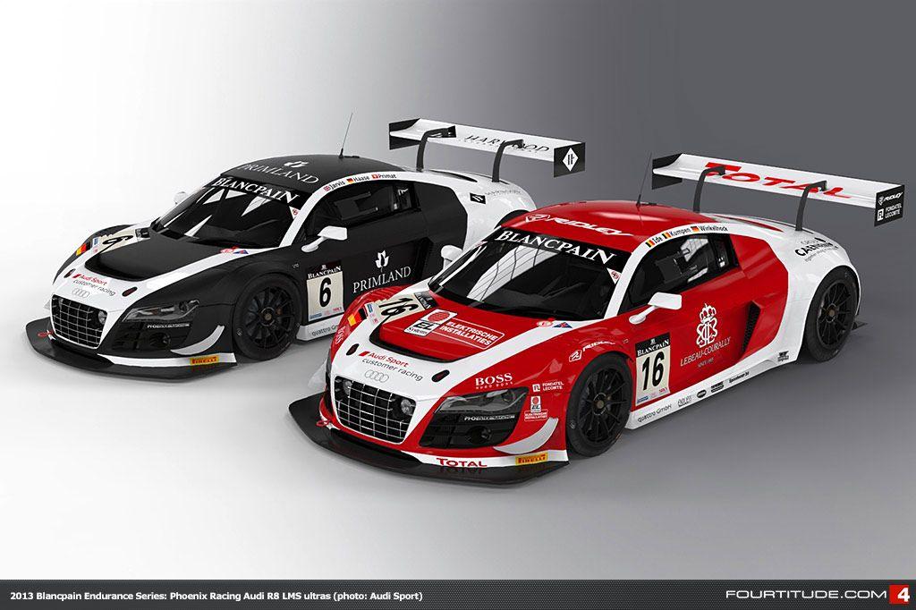 Phoenix Racing Audi R8 Lms Ultra Race Cars Pinterest