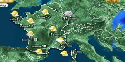 Wetter In Frankreich