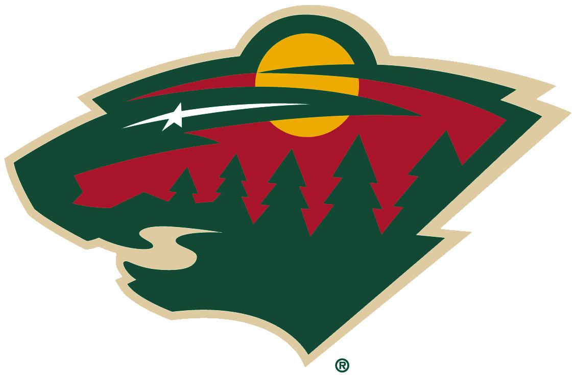 Minnesota wild primary logo 2014 the head of a black - Minnesota wild logo ...