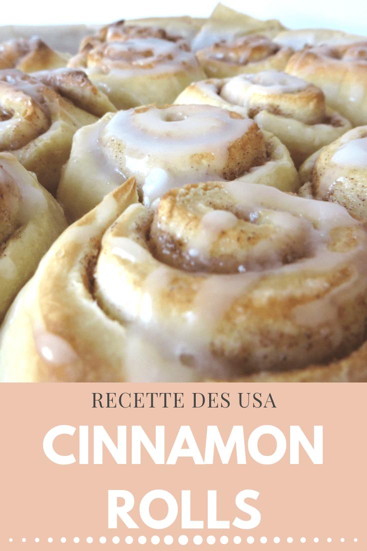 Recette USA : Cinnamon Rolls, instant gourmand à l'américaine #recettesympa
