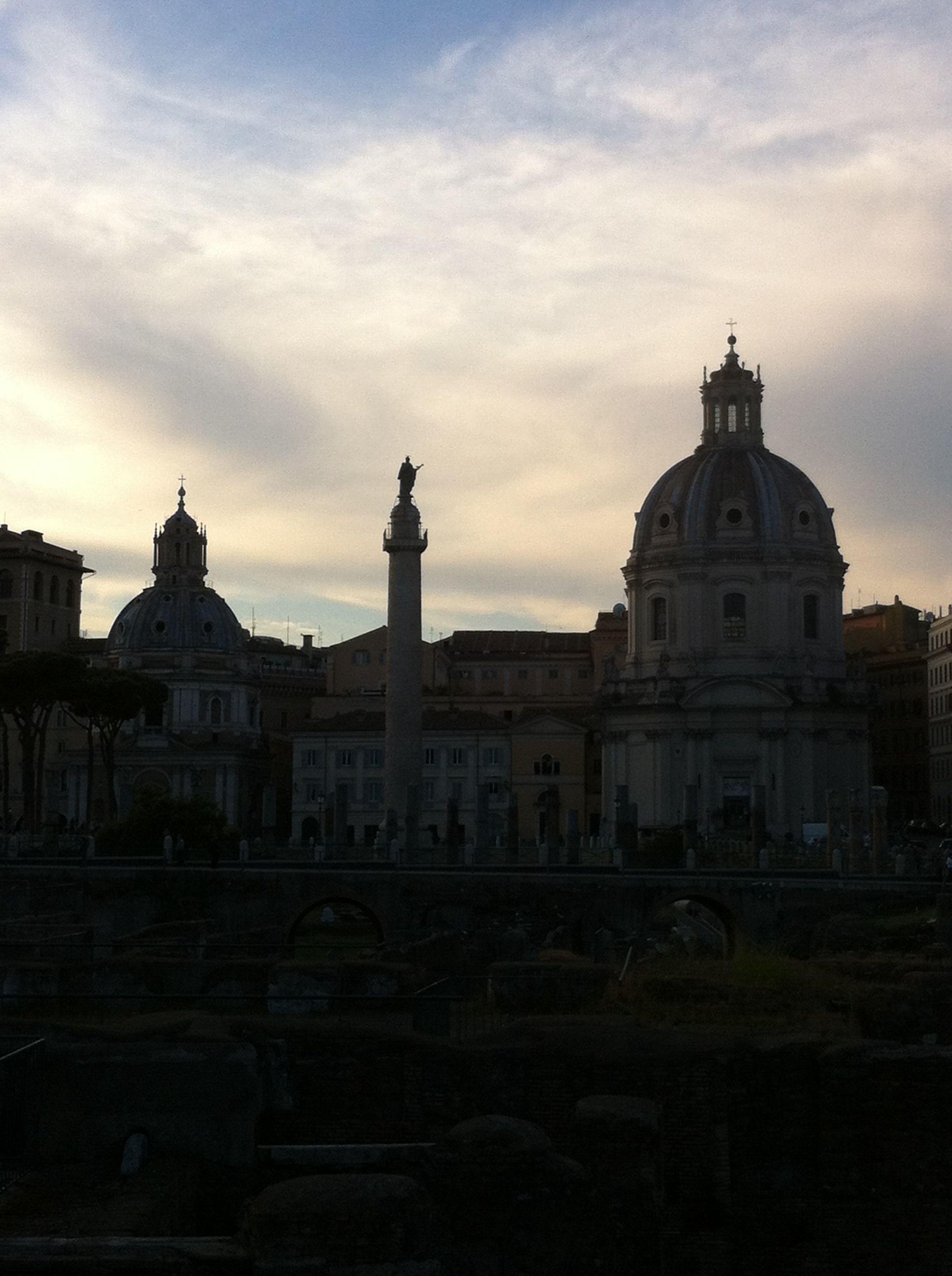 Magic Rome Sky.. Wonderful city