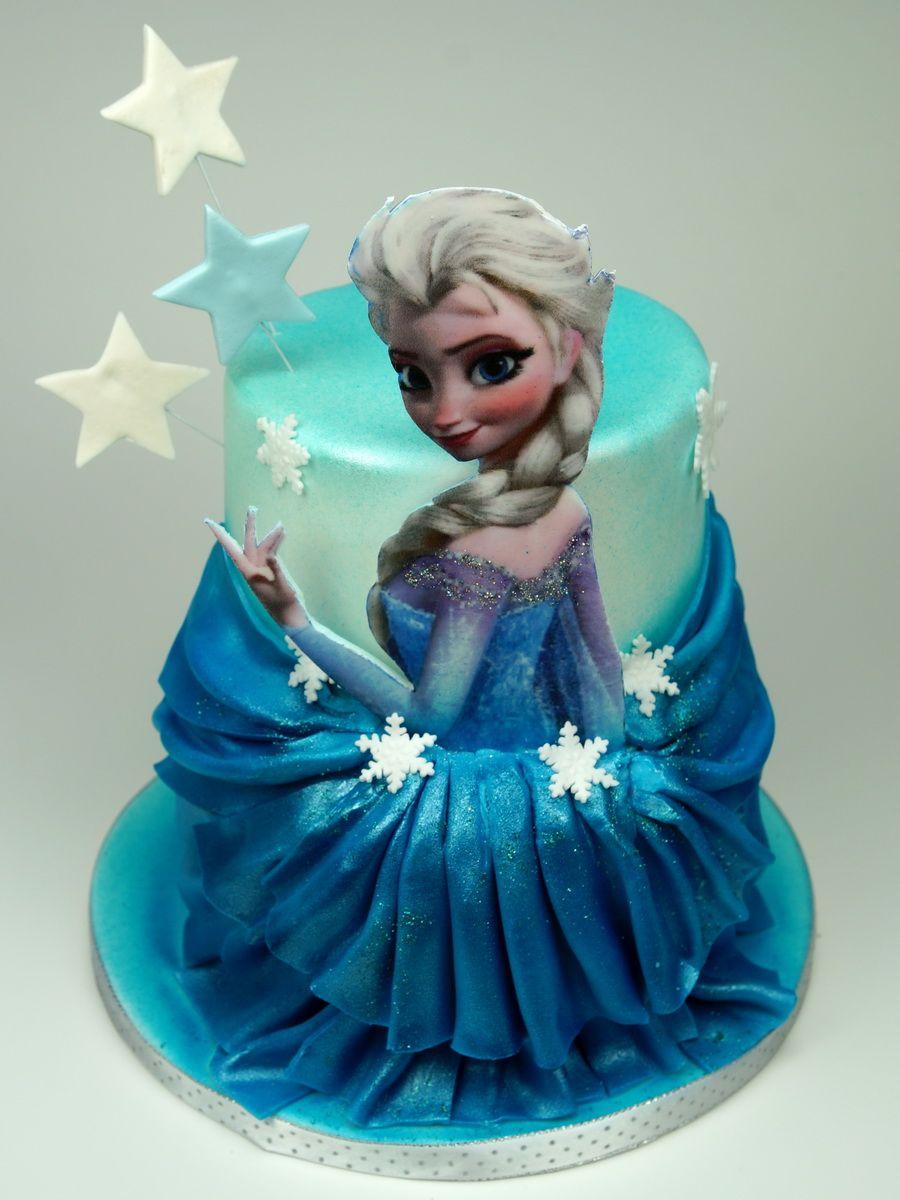 Elsa Frozen Birthday Cake Disney Cakes in London httpwww