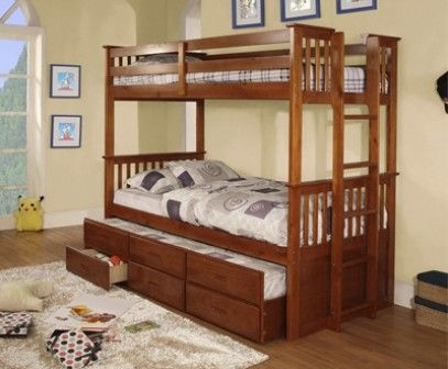 Etagenbett Ausziehbett : Strictly beds everest heavy duty bunkbed etagenbett mit gästebett