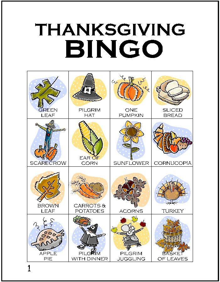 graphic about Free Printable Thanksgiving Games identified as Thanksgiving Printables Grandkids Thanksgiving bingo