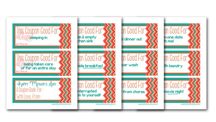 free printables coupon book