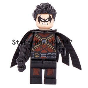 Winter solider Single Sale Classic movies DC Super hero Minifigures Building Block Model Toys DIY Figure Children Gift Toys